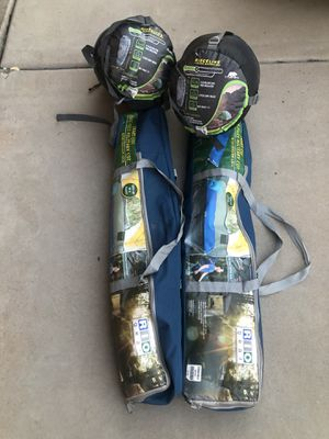 Camping cot and sleeping bag bundle for Sale in Mesa, AZ