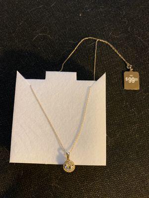 10 karat gold chain and pendant for Sale in Phoenix, AZ