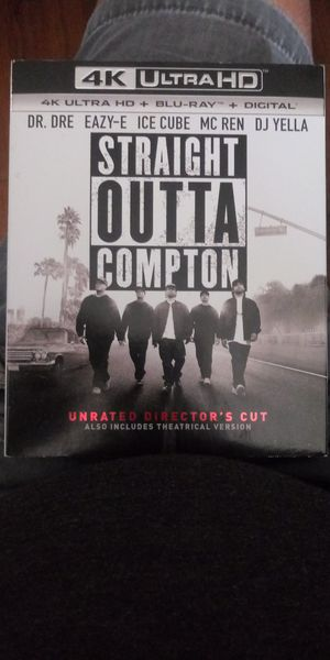 Straight Outta Compton 4K Ultra HD for Sale in Highland, CA