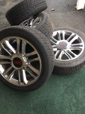 22inch cadillac or Denali or Tahoe rims with tires for Sale in PA, US