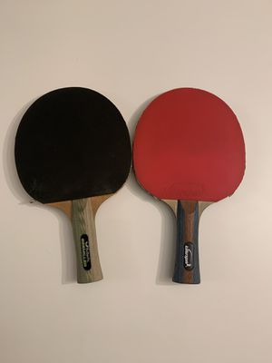 2 Table Tennis Paddles for Sale in Redwood City, CA