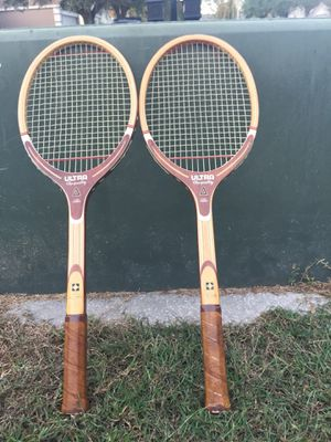 SSK Wood Tennis Rackets Racquets Ultra Top Quality models for Sale in Lutz, FL