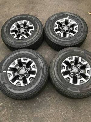 """16"""" Toyota Tacoma TRD factory wheels and tires new for Sale in Santa Ana, CA"""