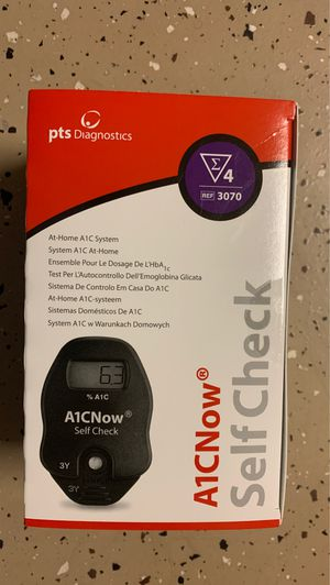 A1CNow Self Check Monitor / 4 tests for Sale in Quitman, AR