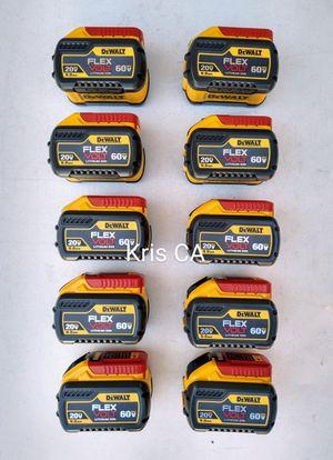 Dewalt flexvolt 9.0 batteries 60v for Sale in City of Industry, CA