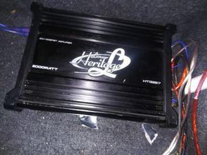 2000 watt amp for Sale in Toledo, OH