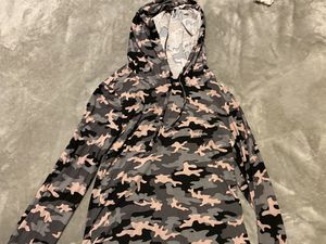 KIDS CAMO LONG SLEEVE SHIRT WITH HOODIE for Sale in San Diego, CA