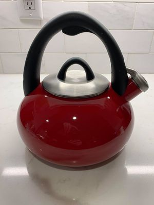 Red Tea Kettle for Sale in Apex, NC