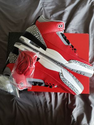 AIR JORDAN 3 RED CEMENT SIZE 11 $210 EACH for Sale in Pomona, CA