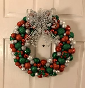 Handmade Christmas Ornament Wreath for Sale in DuPont, WA
