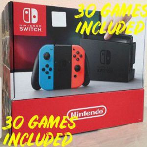 New Nintendo Switch With 30 Games for Sale in San Diego, CA