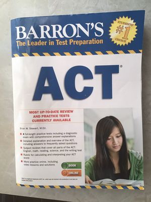Barron's ACT With 4 Full-Length Tests for Sale in Taylors, SC