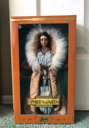 "Barbie Doll Limited Edition: Spirit of the Earth. 1st in Series. Native Spirit Collection. Toys ""R"" Us Exclusive. New. for Sale in San Dimas, CA"