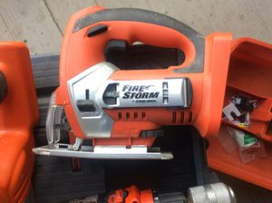 Cordless drill and saw all of them it's cordless excellent condition for Sale in Ashburn, VA