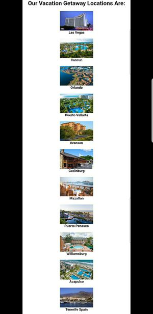 Used, Vacation Package with $200 Shopping Card and more included! for Sale for sale  New York, NY
