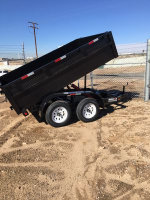 8x10x2 ta dump trailer for Sale in Chino, CA