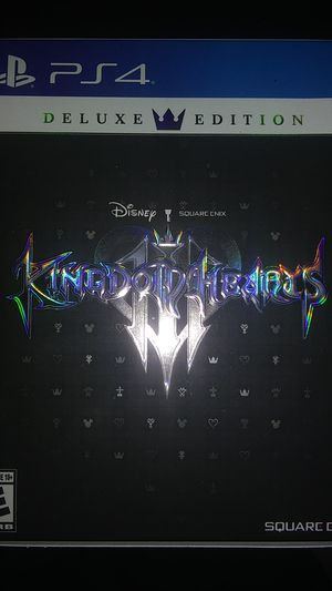 Kingdom hearts 3 deluxe edition for Sale in Hialeah, FL