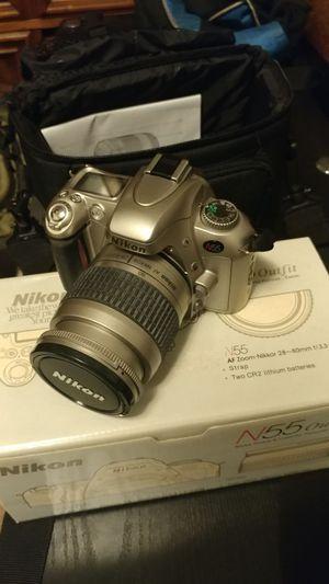 Nikon N55 with Nikkor 28-80mm lens camera for Sale in Santa Monica, CA