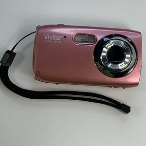 Vivitar Vivicam 5.1MP 4x Zoom Pink Digital Camera for Sale in Bentonville, AR