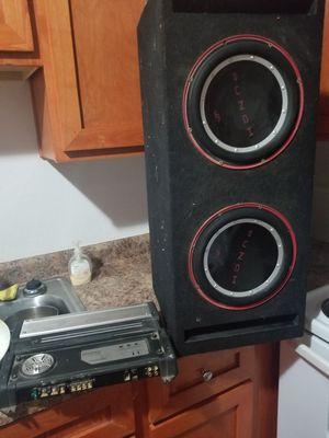 """Rockford fosgate 10"""" p1s w/ kenwood amp for Sale in Phoenix, AZ"""