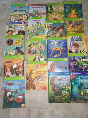 Leapfrog Tag books and case for Sale in Ormond Beach, FL
