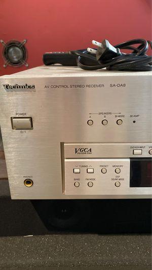 Technics SA DA8 stereo receiver for Sale in Huntington Beach, CA