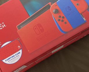Nintendo switch Super Mario Brother's Red And Blue edition (sealed) comes with case for Sale in Long Beach,  CA