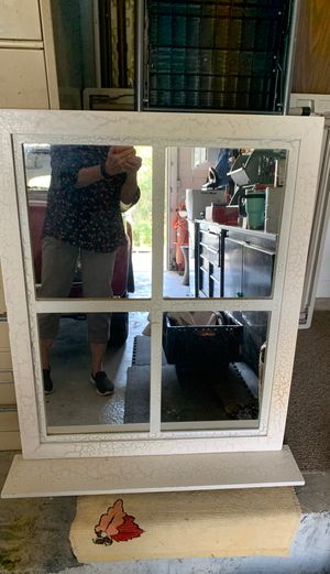 Hanging mirror with small shelf for Sale in Altamonte Springs, FL