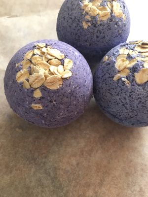 Lavender Oatmeal Bath Bombs for Sale in Chico, CA