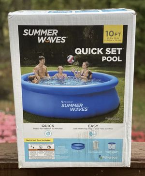 """☀️Brand New in box ☀️Summer Waves 10'x30"""" Inflatable Ring Above Ground Pool for Sale in Cherry Hill, NJ"""
