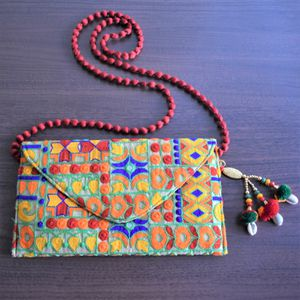 Beautiful handmade embroidered sling bag for Sale in Wichita, KS