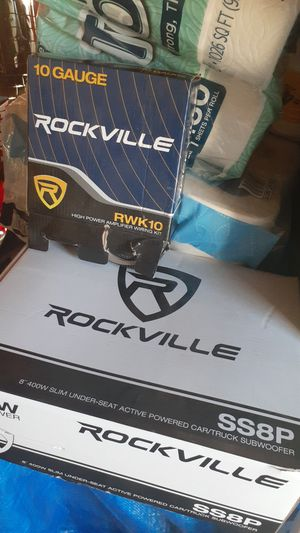 Subwoofer and amp for Sale in Riverbank, CA
