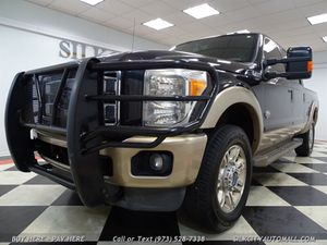 2012 Ford F-250 SD King Ranch 4x4 Crew Cab Diesel 1-Owner for Sale in Paterson, NJ