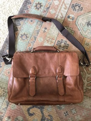 British Belt Company Leather Laptop Messenger Bag for Sale in San Diego, CA