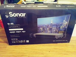 Sonar. SR. 50 digital home Theater for Sale in Norco, CA