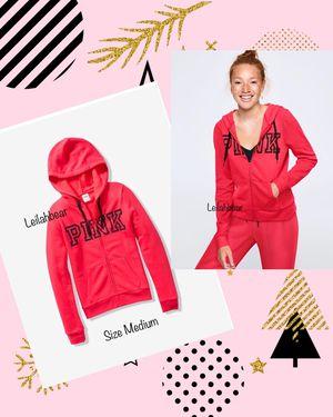 VS Pink Full-Zip Hoodie Sz. M for Sale in Houston, TX