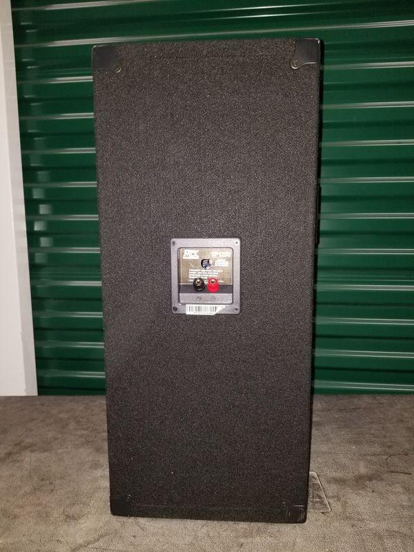 MTX Thunder Pro Audio Speakers