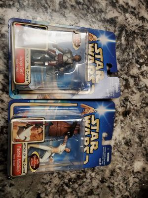 Jango Fett & Padme Amidala STAR WARS ACTION FIGURE BOTH $20 for Sale in Clovis, CA
