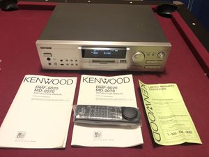Kenwood Mini Disc recorder. MD-2070 for Sale in Renton, WA