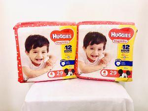 $14 Huggies Snug & Dry Diapers for Sale in Pittsburgh, PA