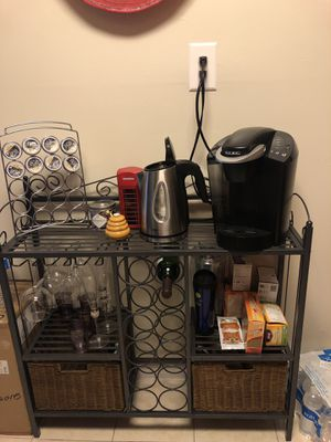 Coffee bar/Wine Rack for Sale in Silver Spring, MD