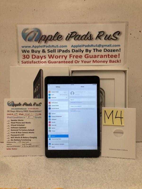 M4 - iPad mini 1 16GB