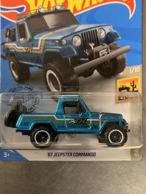 Hot wheels 67 Jeepster Commando Super treasure hunt for Sale in Murrieta, CA