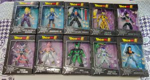 Dragon stars Dragon Ball Z action figure collection set of 10 for Sale in Bell Gardens, CA