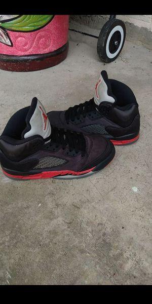 OG Jordan retro 5 satín l for Sale in Houston, TX