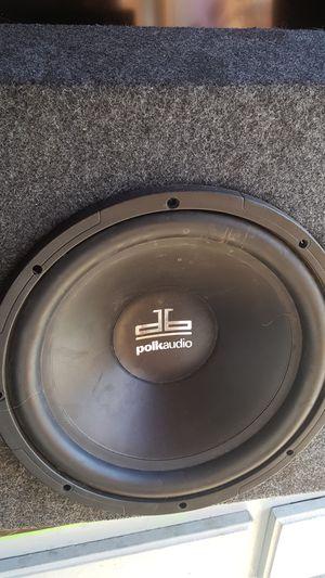 Polk audio 12 inch single box for Sale in Las Vegas, NV