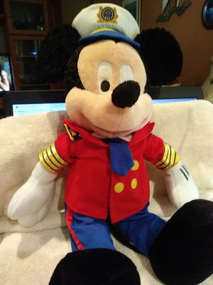 Disney's plush Mickey Mouse ships captain for Sale in Largo, FL