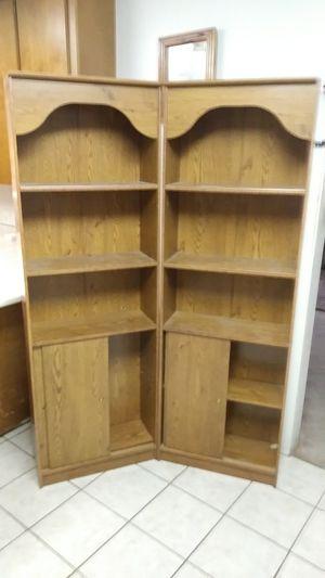(2) Bookshelves w/ Sliding Storage for Sale in Alexandria, LA