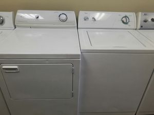Whirlpool Washer Maytag dryer with warranty virgils preowned appliances for Sale in Hiram, GA