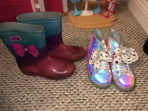JoJo rain boots and shoes for Sale in Riverside, CA